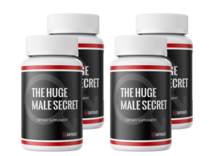 huge male Secret Supplement Bottle