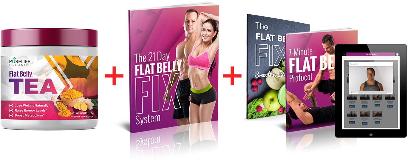 flat belly tea bundle